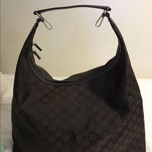 Gucci Monogram Large Hobo bag